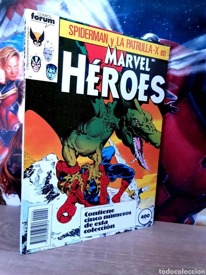 CASI EXCELENTE ESTADO MARVEL HÉROES RETAPADO 31 AL 35 COMICS FÓRUM (Tebeos y Comics - Forum - Retapados)