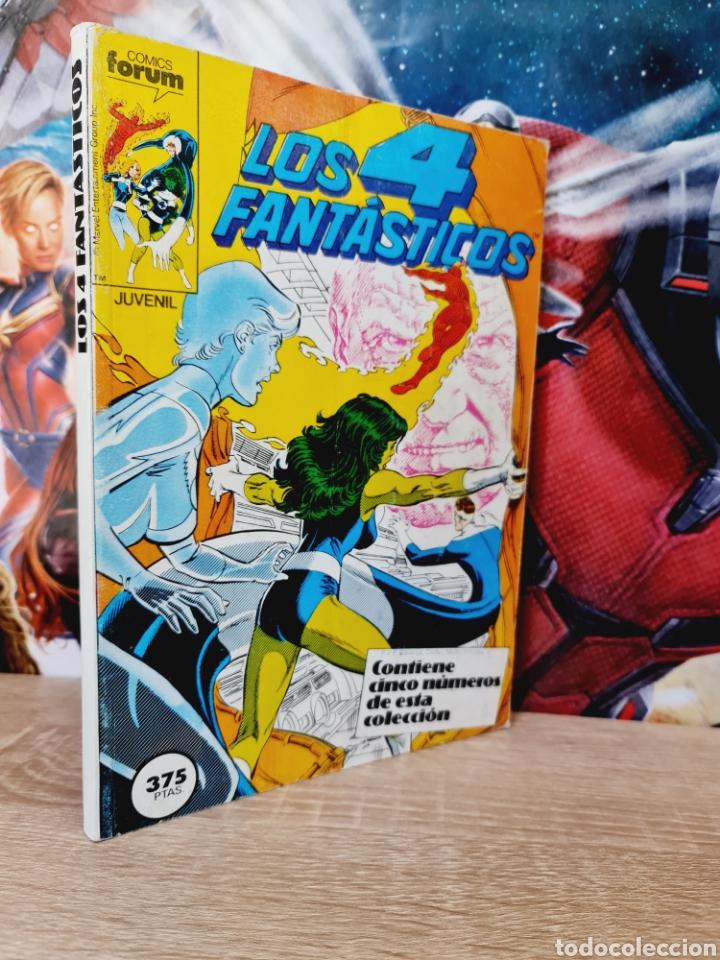 MUY BUEN ESTADO LOS 4 FANTASTICOS 66 AL 70 RETAPADO COMICS FÓRUM (Tebeos y Comics - Forum - Retapados)