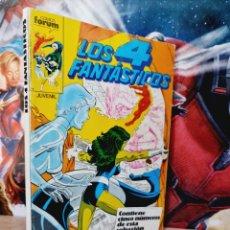 Cómics: MUY BUEN ESTADO LOS 4 FANTASTICOS 66 AL 70 RETAPADO COMICS FÓRUM. Lote 261788370
