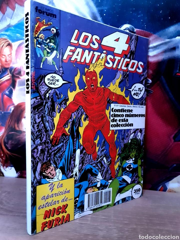 CASI EXCELENTE ESTADO LOS 4 FANTASTICOS 61 AL 65 RETAPADO COMICS FÓRUM (Tebeos y Comics - Forum - Retapados)