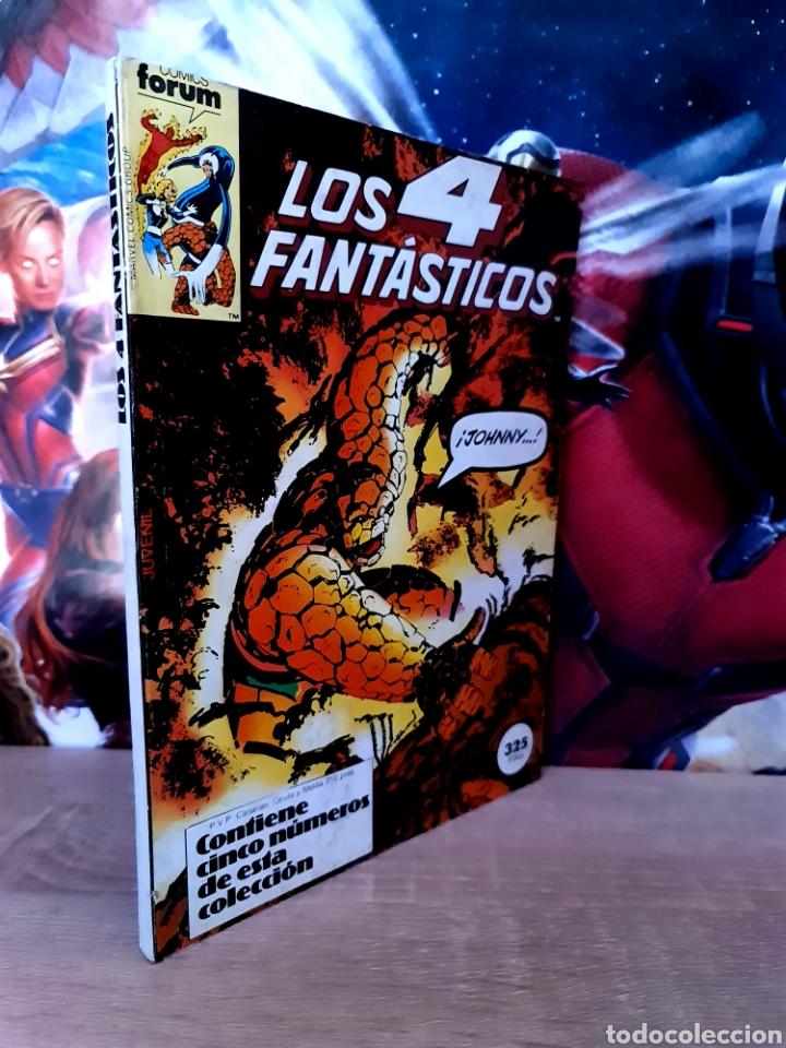 MUY BUEN ESTADO LOS 4 FANTASTICOS 41 AL 45 RETAPADO COMICS FÓRUM (Tebeos y Comics - Forum - Retapados)
