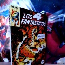 Cómics: MUY BUEN ESTADO LOS 4 FANTASTICOS 41 AL 45 RETAPADO COMICS FÓRUM. Lote 261789345