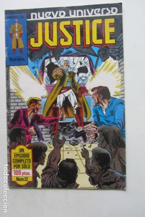 JUSTICE Nº 12 NUEVO UNIVERSO FORUM MUCHOS EN VENTA MIRA TUS FALTAS ARX83 (Tebeos y Comics - Forum - Hulk)