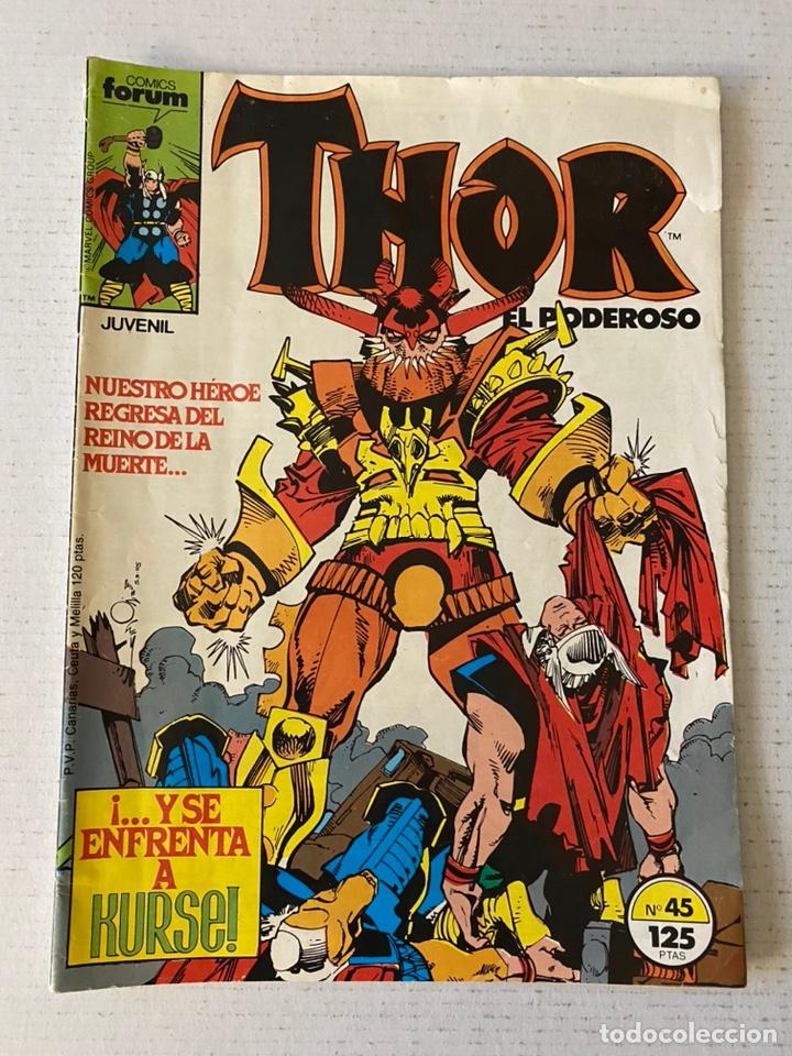 THOR #45 VOL.1 FÓRUM 1ª EDICIÓN (Tebeos y Comics - Forum - Thor)