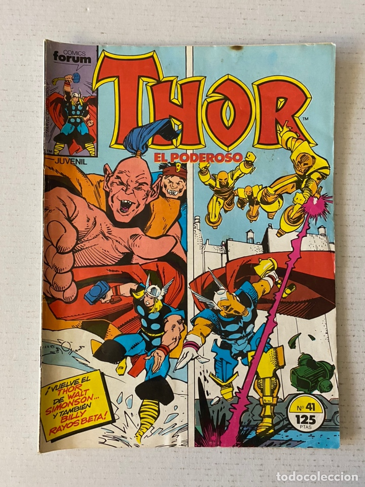 THOR #41 VOL.1 FÓRUM 1ª EDICIÓN (Tebeos y Comics - Forum - Thor)