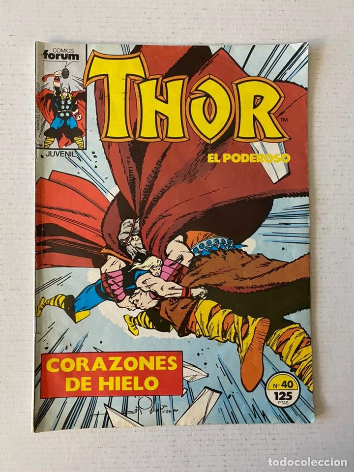 THOR #40 VOL.1 FÓRUM 1ª EDICIÓN (Tebeos y Comics - Forum - Thor)