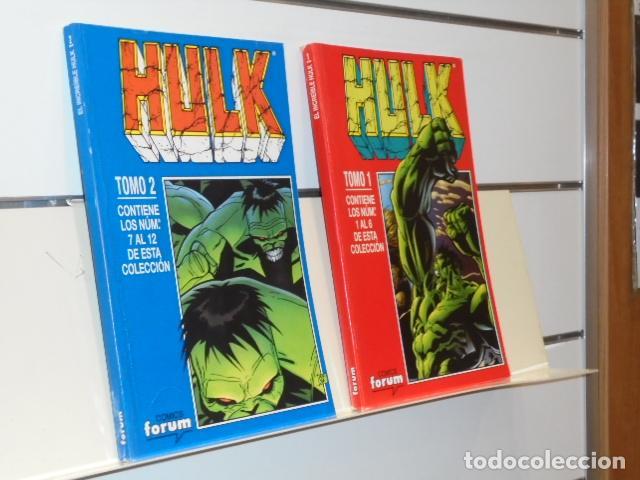 RETAPADO HULK VOL. 4 COMPLETA EN 2 TOMOS CONTIENE LOS Nº 1 AL 12 DE LA COLECCION MARVEL - FORUM (Tebeos y Comics - Forum - Hulk)