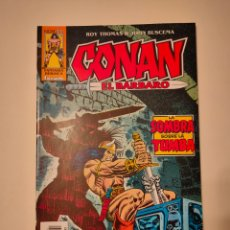 Cómics: CONAN EL BÁRBARO #31 - LA SOMBRA SOBRE LA TUMBA (ROY THOMAS, JOHN BUSCEMA). Lote 261894050