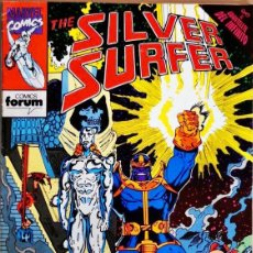 Cómics: THE SILVER SURFER VOL 2 #17 CÓMICS FÓRUM 1991. Lote 261898890