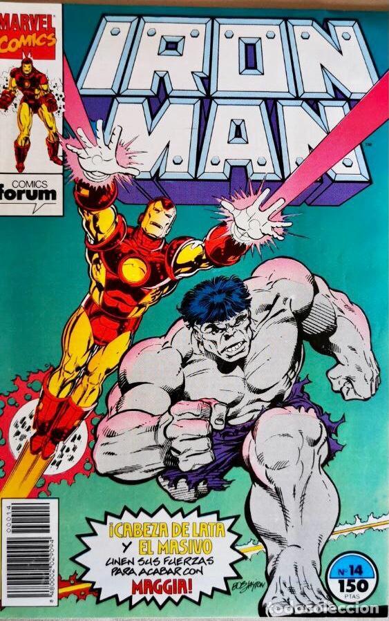 IRON MAN VOL 2 #14 (Tebeos y Comics - Forum - Iron Man)