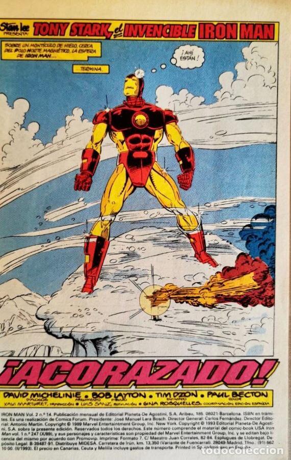 Cómics: IRON MAN vol 2 #14 - Foto 2 - 261940955