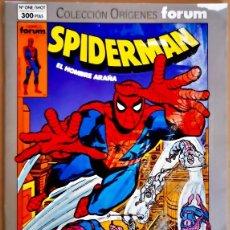Cómics: SPIDERMAN # 1 COLECCIÓN ORIGENES FÓRUM 1993. Lote 261942650