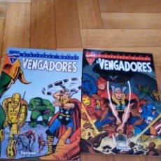 Cómics: LOS VENGADORES 1 Y 2, BIBLIOTECA MARVEL EXCELSIOR. Lote 261969950