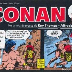 Cómics: CONAN-TIRAS DE PRENSA-PLANETA-Nº 10 -YAMATO-GRAN ALFREDO ALCALÁ-1989-BUENO-MUY DIFÍCIL-LEA-4695. Lote 261984635