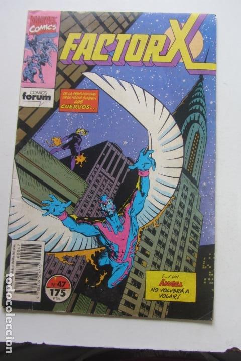 FACTOR X VOL I Nº 47 FORUM MUCHOS EN VENTA MIRA TUS FALTAS ARX25 (Tebeos y Comics - Forum - X-Men)