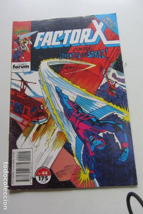 FACTOR X VOL I Nº 44 FORUM MUCHOS EN VENTA MIRA TUS FALTAS ARX25 (Tebeos y Comics - Forum - X-Men)