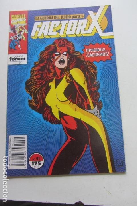 FACTOR X VOL I Nº 41 FORUM MUCHOS EN VENTA MIRA TUS FALTAS ARX25 (Tebeos y Comics - Forum - X-Men)