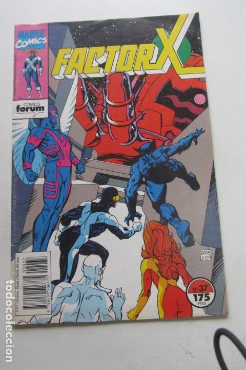 FACTOR X VOL I Nº 37 FORUM MUCHOS EN VENTA MIRA TUS FALTAS ARX25 (Tebeos y Comics - Forum - X-Men)