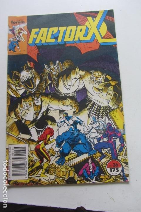 FACTOR X VOL I Nº 36 FORUM MUCHOS EN VENTA MIRA TUS FALTAS ARX25 (Tebeos y Comics - Forum - X-Men)