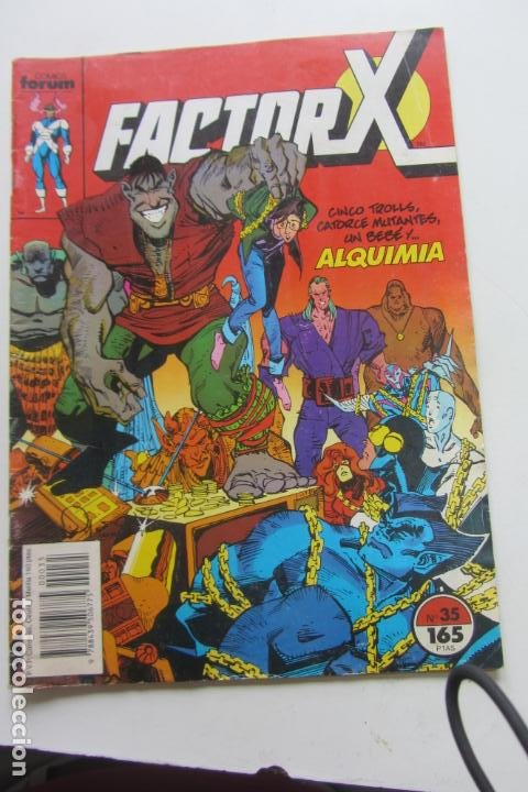 FACTOR X VOL I Nº 35 FORUM MUCHOS EN VENTA MIRA TUS FALTAS ARX25 (Tebeos y Comics - Forum - X-Men)