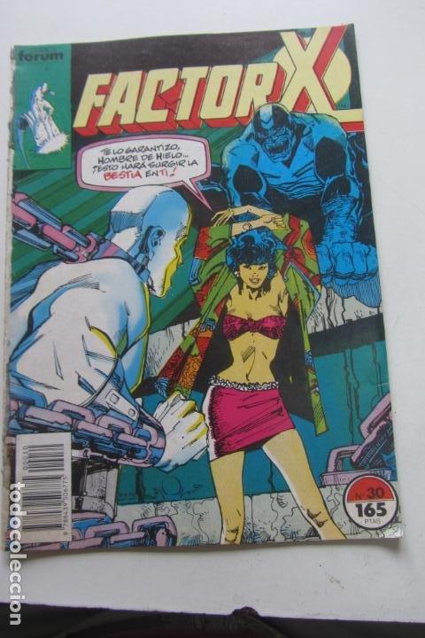 FACTOR X VOL I Nº 30 FORUM MUCHOS EN VENTA MIRA TUS FALTAS ARX25 (Tebeos y Comics - Forum - X-Men)