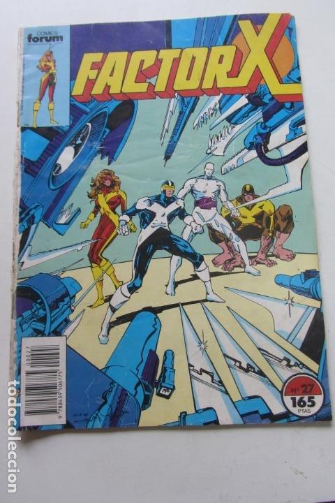 FACTOR X VOL I Nº 27 FORUM MUCHOS EN VENTA MIRA TUS FALTAS ARX25 (Tebeos y Comics - Forum - X-Men)