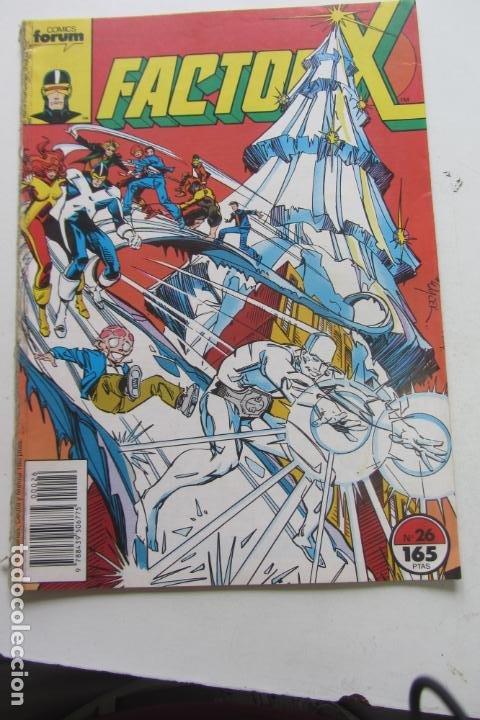 FACTOR X VOL I Nº 26 FORUM MUCHOS EN VENTA MIRA TUS FALTAS ARX25 (Tebeos y Comics - Forum - X-Men)