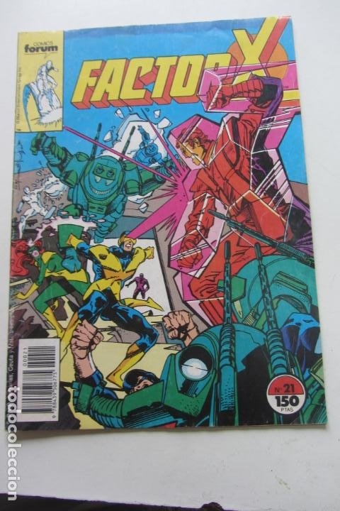 FACTOR X VOL I Nº 21 FORUM MUCHOS EN VENTA MIRA TUS FALTAS ARX25 (Tebeos y Comics - Forum - X-Men)