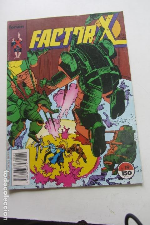 FACTOR X VOL I Nº 19 FORUM MUCHOS EN VENTA MIRA TUS FALTAS ARX25 (Tebeos y Comics - Forum - X-Men)