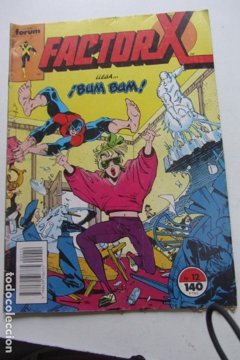 FACTOR X VOL I Nº 12 FORUM MUCHOS EN VENTA MIRA TUS FALTAS ARX25 (Tebeos y Comics - Forum - X-Men)