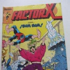 Cómics: FACTOR X VOL I Nº 12 FORUM MUCHOS EN VENTA MIRA TUS FALTAS ARX25. Lote 262056420