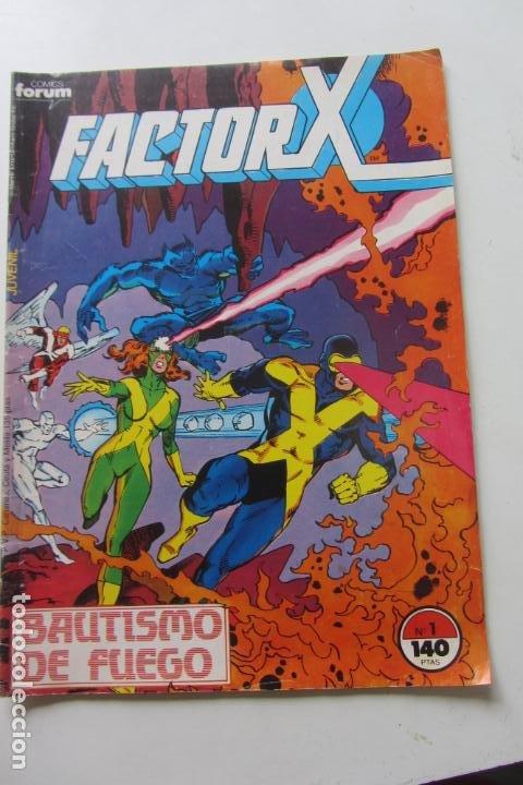 FACTOR X VOL I Nº 1 FORUM MUCHOS EN VENTA MIRA TUS FALTAS ARX25 (Tebeos y Comics - Forum - Factor X)