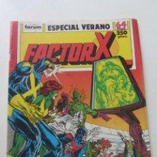 Comics: FACTOR X ESPECIAL VERANO 1989 FORUM MUCHOS EN VENTA MIRA TUS FALTAS ARX25. Lote 262070840