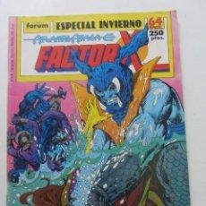 Comics: FACTOR X ESPECIAL INVIERNO 1989 (ATLANTIS ATACA) FORUM MUCHOS EN VENTA MIRA TUS FALTAS ARX25. Lote 262071175