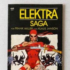 Cómics: ELEKTRA SAGA - FRANK MILLER - FORUM PRESTIGIO EN BUEN ESTADO. Lote 262166400