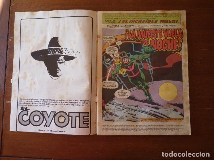 Cómics: LA MASA EL INCREIBLE HULK Nº 8, 9 Y 10 RETAPADOS - FORUM 1984??? - Foto 3 - 262192385