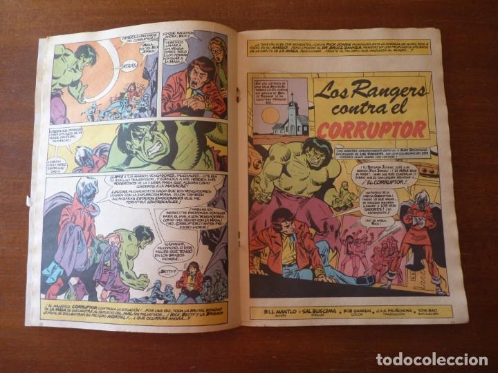 Cómics: LA MASA EL INCREIBLE HULK Nº 8, 9 Y 10 RETAPADOS - FORUM 1984??? - Foto 4 - 262192385