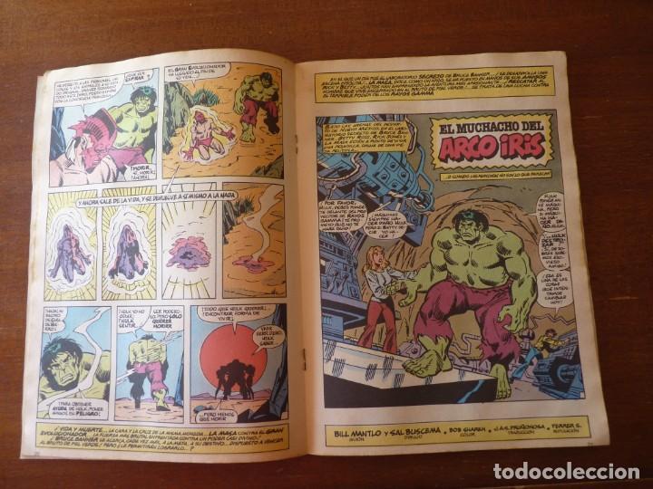 Cómics: LA MASA EL INCREIBLE HULK Nº 8, 9 Y 10 RETAPADOS - FORUM 1984??? - Foto 7 - 262192385