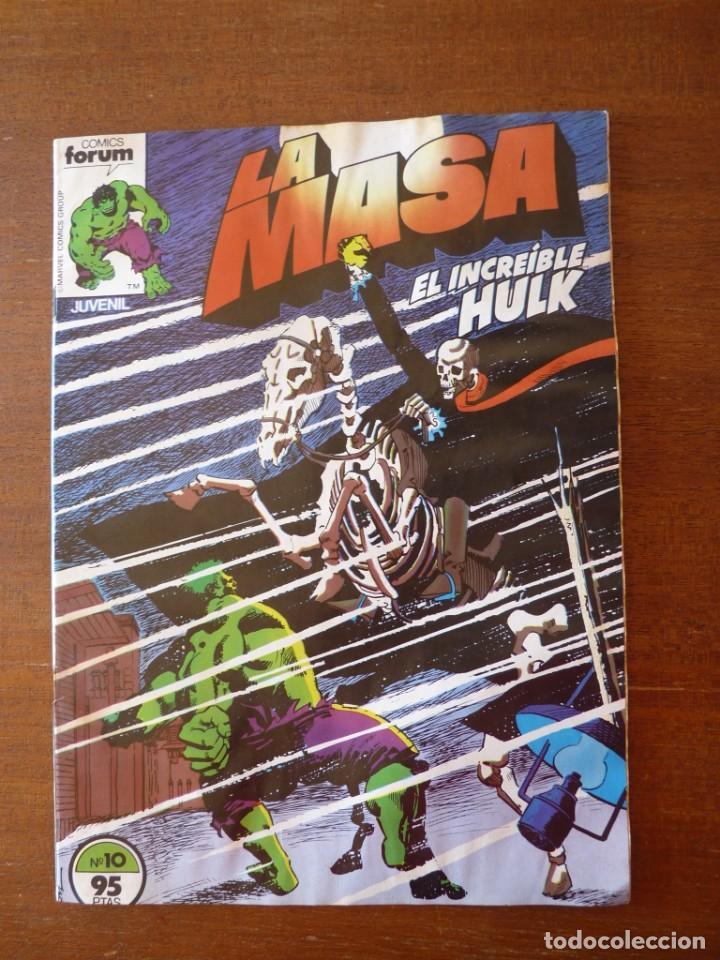 Cómics: LA MASA EL INCREIBLE HULK Nº 8, 9 Y 10 RETAPADOS - FORUM 1984??? - Foto 8 - 262192385