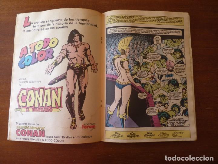 Cómics: LA MASA EL INCREIBLE HULK Nº 8, 9 Y 10 RETAPADOS - FORUM 1984??? - Foto 11 - 262192385