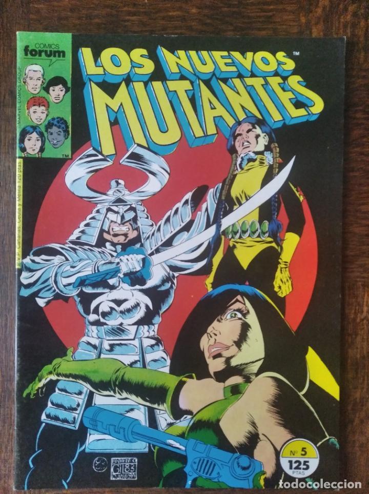 LOS NUEVOS MUTANTES V.1 Nº 5 - FORUM MARVEL COMICS - (Tebeos y Comics - Forum - Nuevos Mutantes)