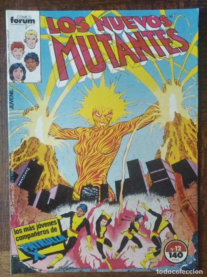 LOS NUEVOS MUTANTES V.1 Nº 12 - FORUM MARVEL COMICS - (Tebeos y Comics - Forum - Nuevos Mutantes)