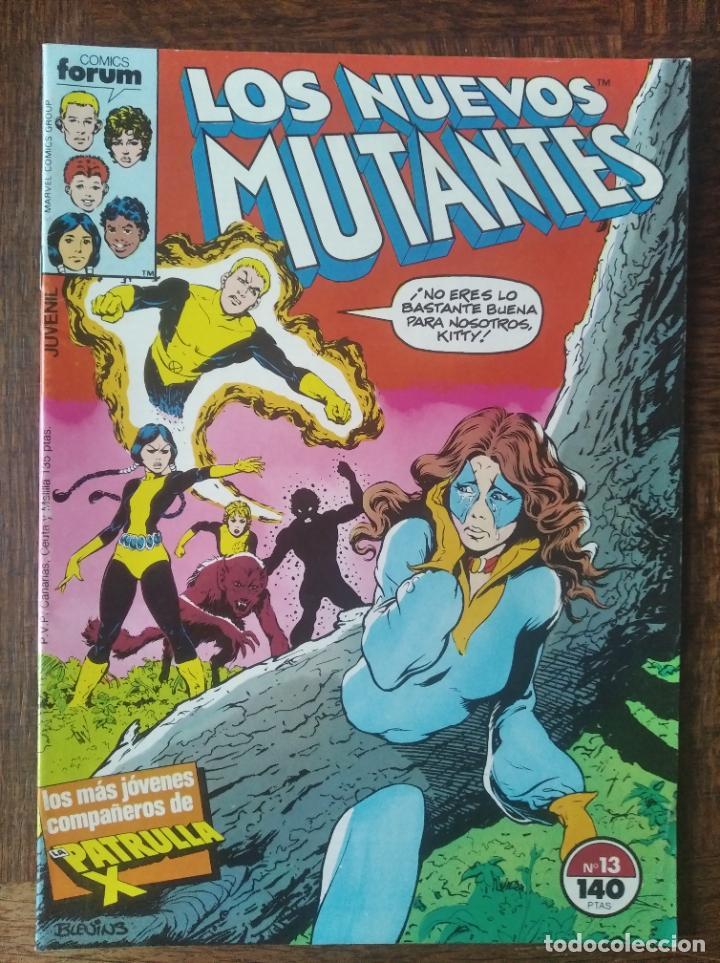 LOS NUEVOS MUTANTES V.1 Nº 13 - FORUM MARVEL COMICS - (Tebeos y Comics - Forum - Nuevos Mutantes)