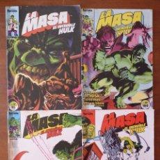 Cómics: LA MASA EL INCREIBLE HULK Nº 31, 35, 36, 38, 41, 44, 45, 48 Y 49 (FORUM 1984-86). Lote 262193770