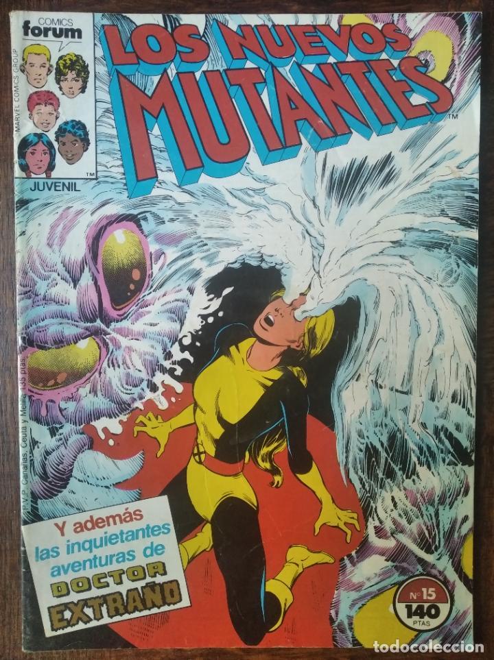 LOS NUEVOS MUTANTES V.1 Nº 15 - FORUM MARVEL COMICS - (Tebeos y Comics - Forum - Nuevos Mutantes)