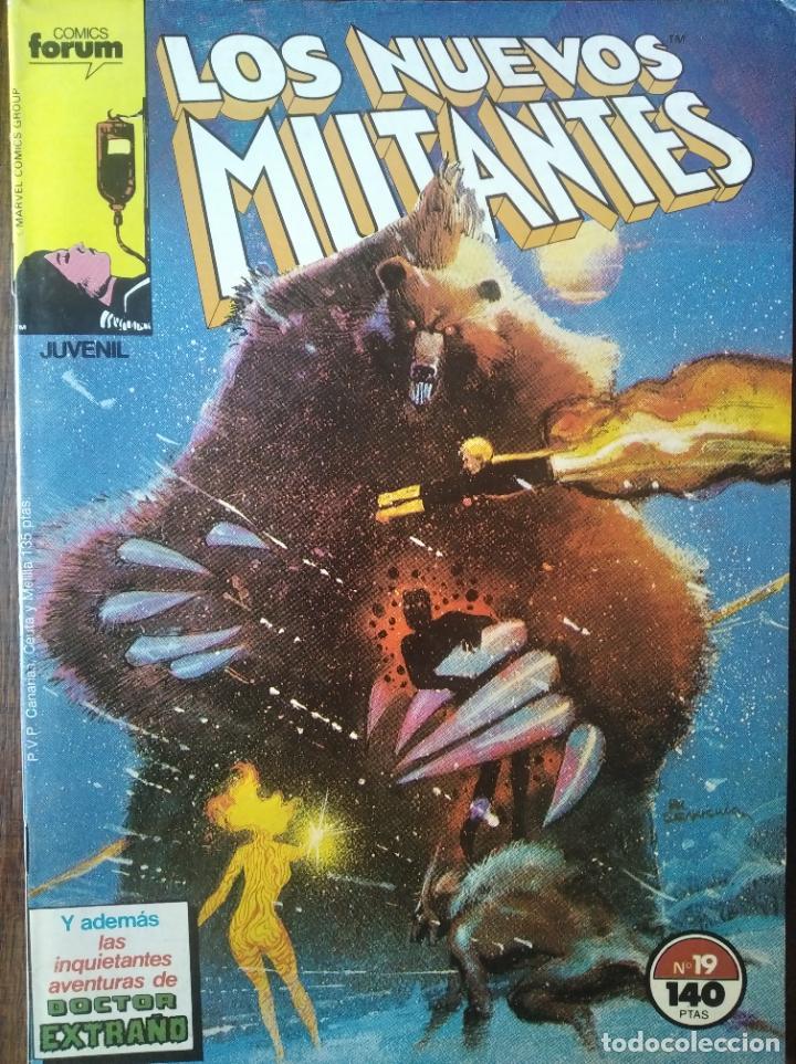LOS NUEVOS MUTANTES V.1 Nº 19 - FORUM MARVEL COMICS - (Tebeos y Comics - Forum - Nuevos Mutantes)