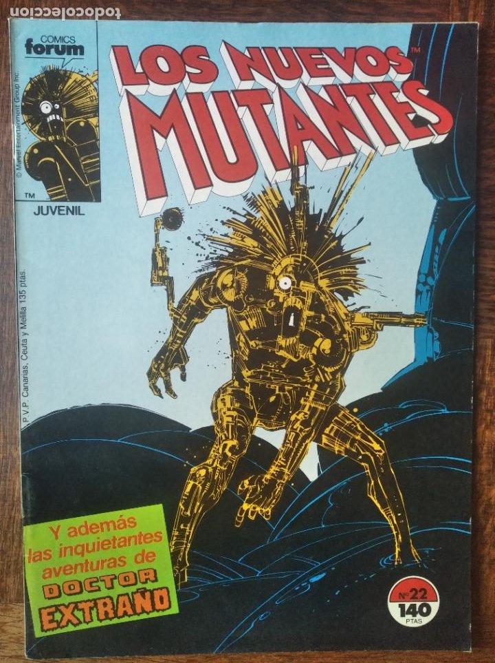 LOS NUEVOS MUTANTES V.1 Nº 22 - FORUM MARVEL COMICS - (Tebeos y Comics - Forum - Nuevos Mutantes)