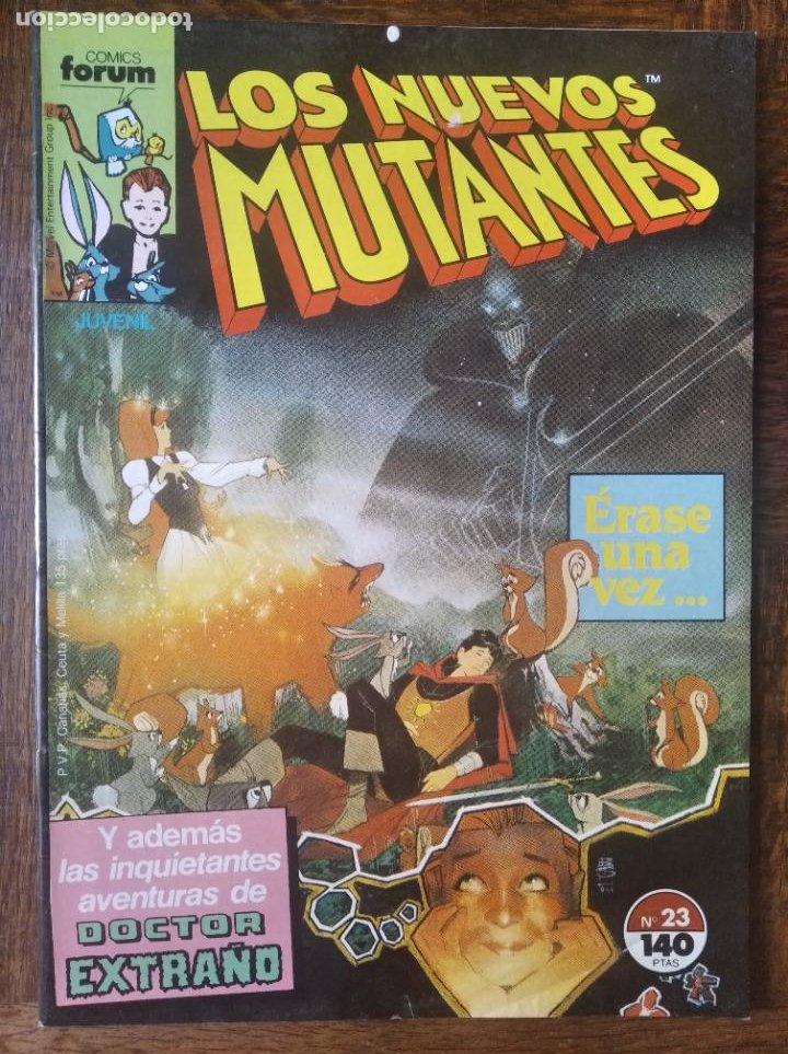 LOS NUEVOS MUTANTES V.1 Nº 23 - FORUM MARVEL COMICS - (Tebeos y Comics - Forum - Nuevos Mutantes)