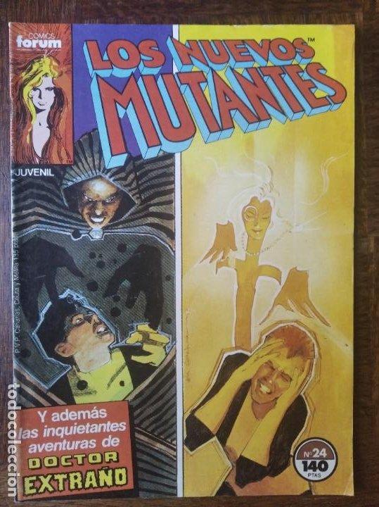 LOS NUEVOS MUTANTES V.1 Nº 24 - FORUM MARVEL COMICS - (Tebeos y Comics - Forum - Nuevos Mutantes)