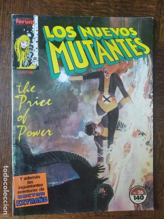 LOS NUEVOS MUTANTES V.1 Nº 26 - FORUM MARVEL COMICS - (Tebeos y Comics - Forum - Nuevos Mutantes)